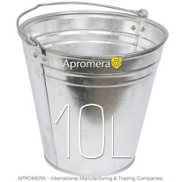 Galvanized buckets – 10 Liters