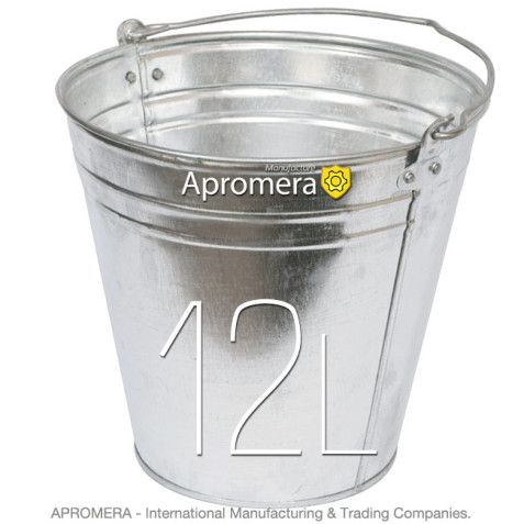 Galvanized buckets – 12 Liters