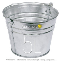 Galvanized buckets – 5 Liters
