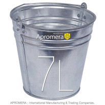 Galvanized buckets – 7 Liters