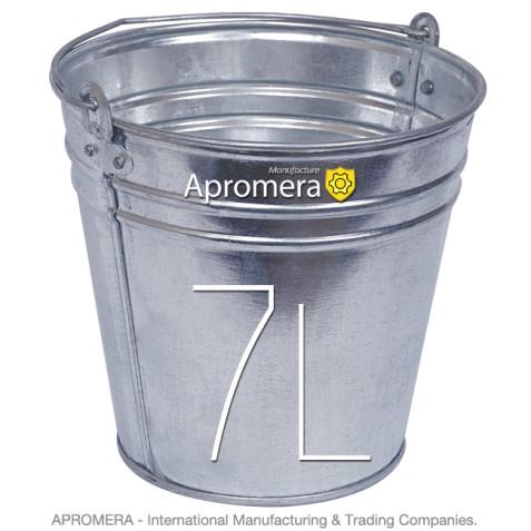Galvanized buckets - 7 Liters