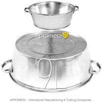 Galvanized Wash Pan – 9L