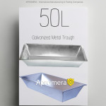 Galvanized Trough Planter (water tank) - 50L