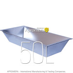 Galvanized Trough Planter (water tank) - 50L