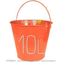 Coloured Galvanised Bucket – 10 Liters