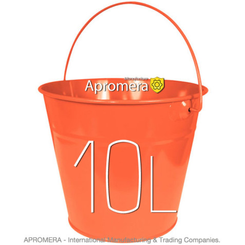 Coloured Galvanised Bucket – 10 Liters