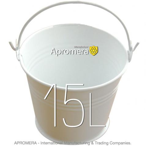 Coloured Metal Bucket – 15 Liters