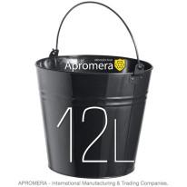 Coloured Metal Bucket – 12 Liters