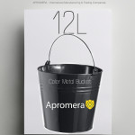 Coloured Metal Bucket – 12 Liters