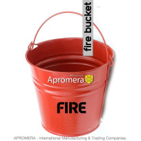 Galvanized Fire Bucket – 12Liters