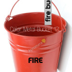 Galvanized Fire Bucket - 12Liters