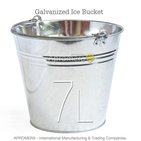 Galvanized Beer Bucket - 7 Liters