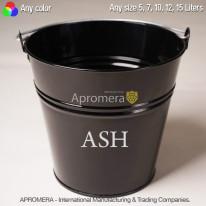 Metal Ash Buckets