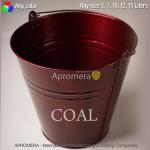 Galvanised Coal Bucket