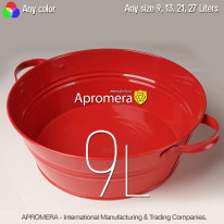 Drink and Beverage Tub – 9L (Red color)